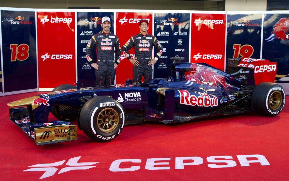 Toro Rosso presenta su STR8 con el que quieren ser sextos