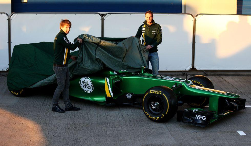 Caterham presenta su nuevo monoplaza en Jerez