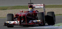 Grosjean manda con el Lotus en la primera mañana de Jerez