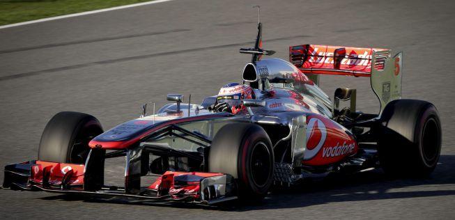 Button, el más rápido en Jerez