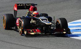 Grosjean y su Lotus dominan en el segundo día de Jerez