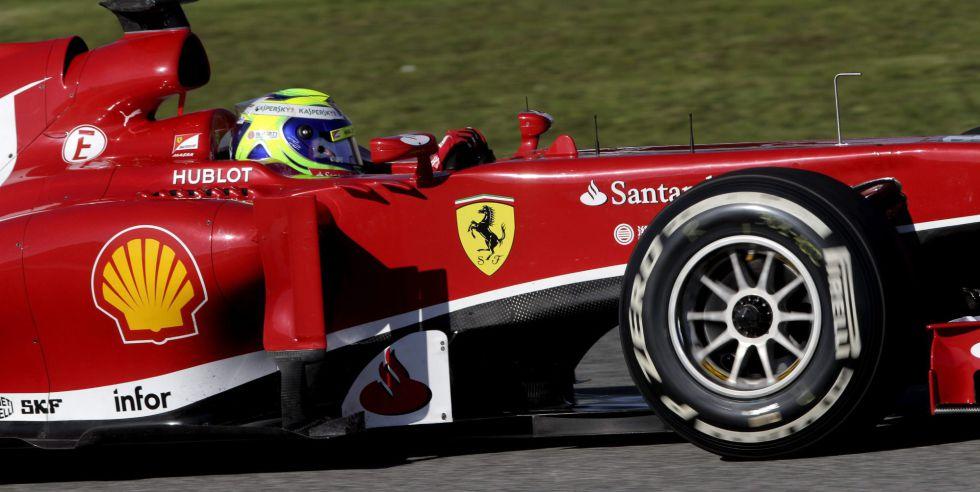 Ferrari despierta: Massa el más rápido de los tres días en Jerez
