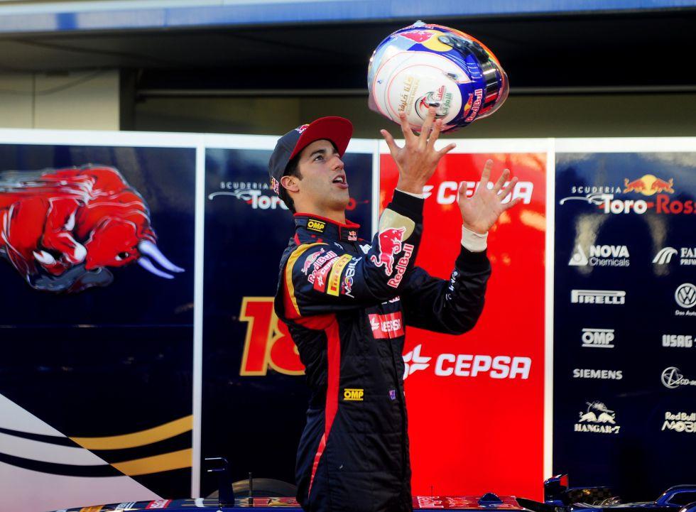 """Daniel Ricciardo: """"Se puede ganar con un Toro Rosso"""""""