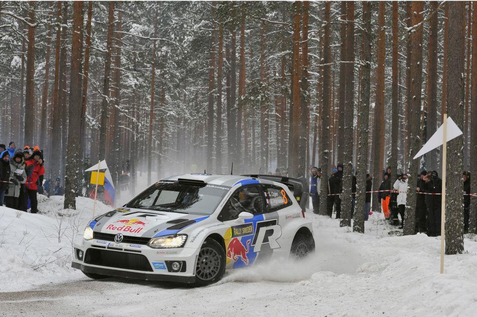 Ogier consigue ante Loeb el primer triunfo para Volkswagen