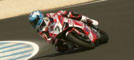 Carlos Checa se sube a la moto y firma el sexto mejor tiempo