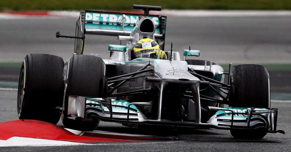 Rosberg, Raikkonen y Alonso se suben a las barbas de Vettel