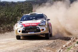 Dani Sordo inicia los ensayos sobre tierra con el Citroën DS3