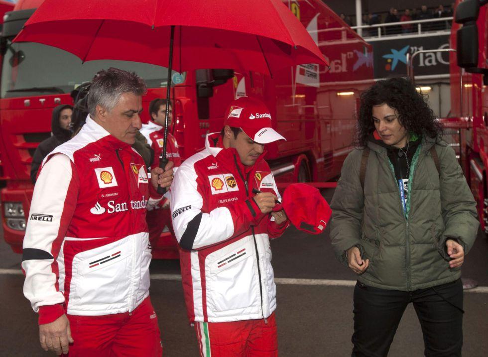 """Felipe Massa: """"El coche todavía tiene que crecer mucho"""""""