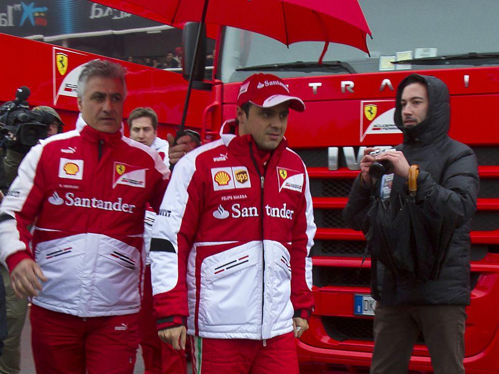 """Felipe Massa: """"El coche está verde, pero se pilota bien"""""""