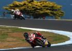 Aprilia 16 km/h más veloz que la Ducati de Carlos Checa