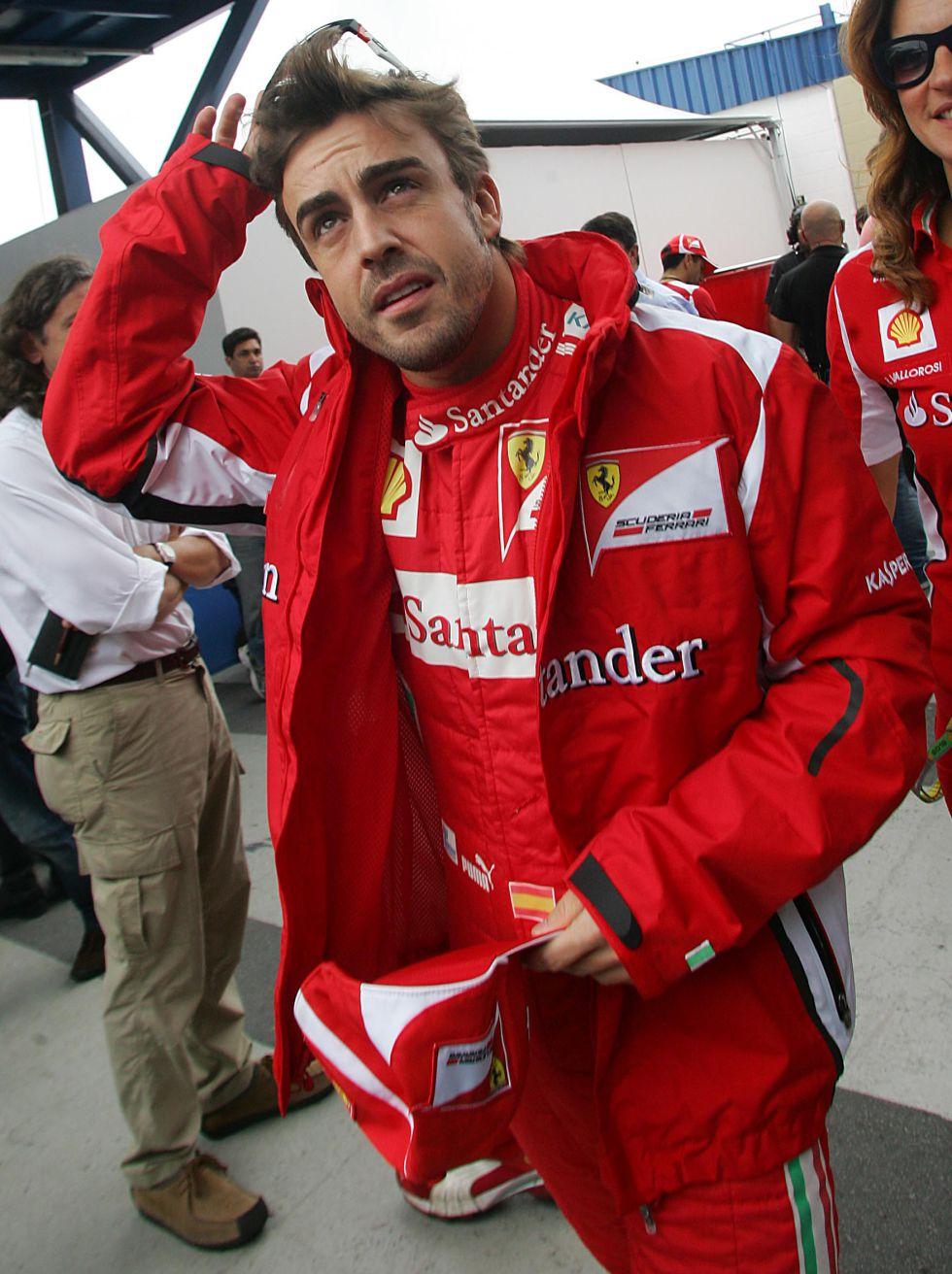 Piezas nuevas en Ferrari para el último test de pretemporada