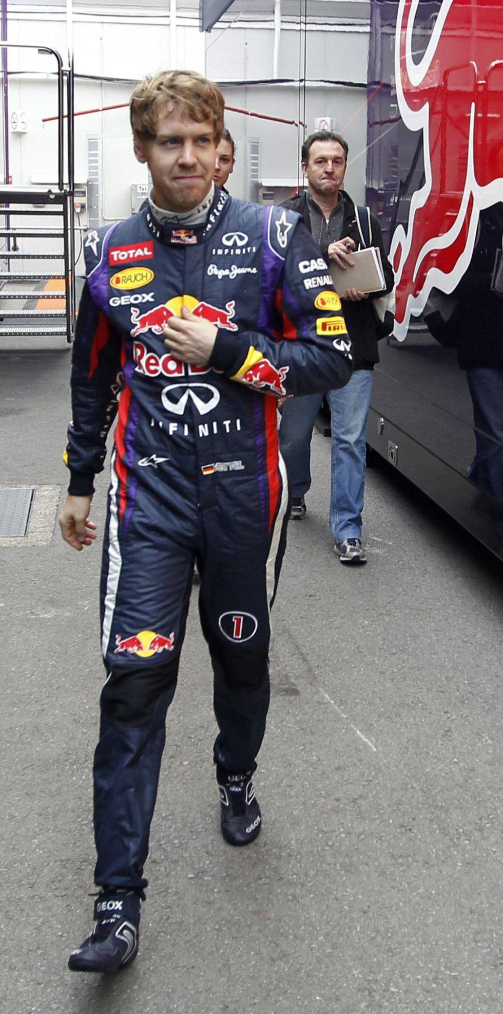 """Vettel: """"Alonso es de los mejores, pero no estoy pendiente de él"""""""