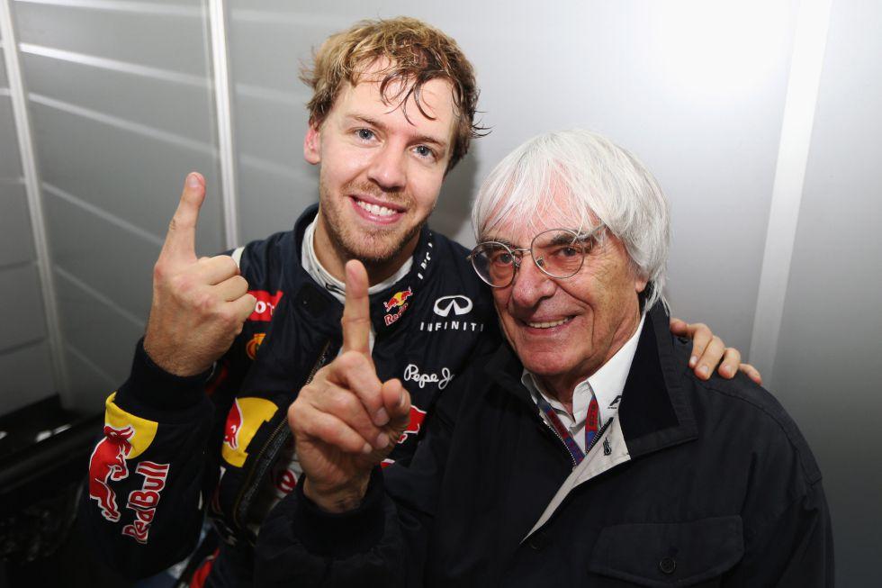 """Ecclestone insiste: """"Yo habría hecho lo mismo que Vettel"""" - AS.com"""