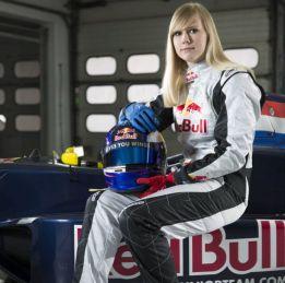 Beitske Visser es la primera mujer que corre en Red Bull