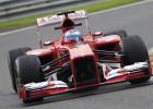 Alonso lidera la primera sesión de entrenamientos en Spa