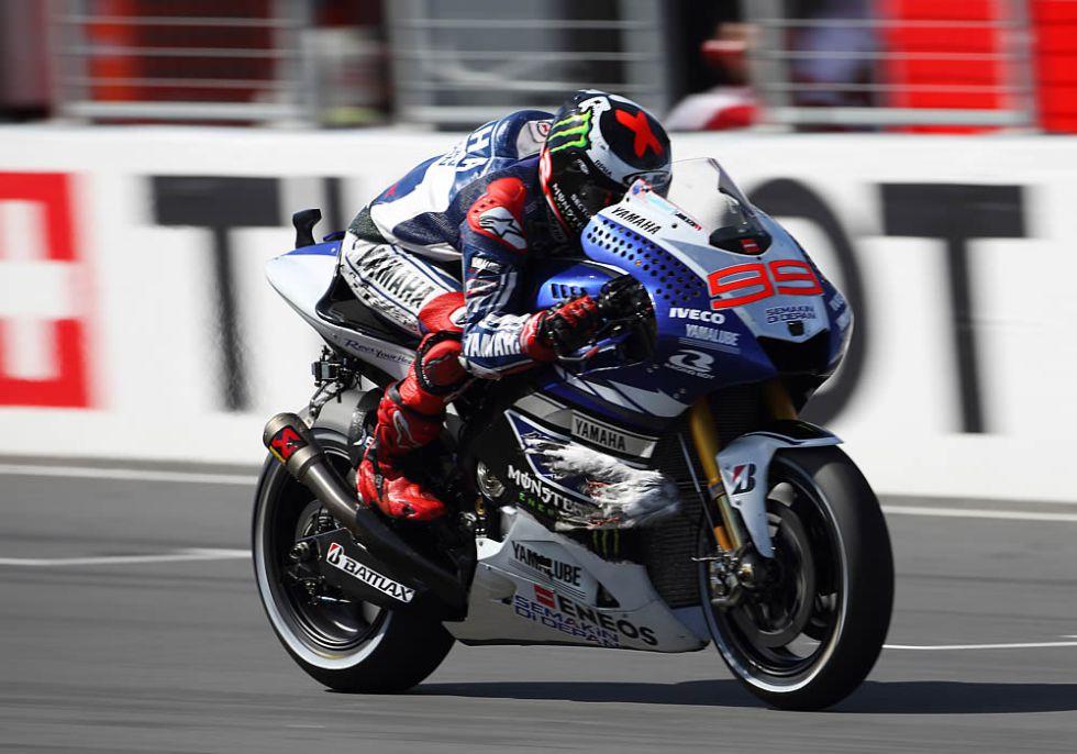 Lorenzo vuela en la pole pero Márquez no pierde su estela - AS.com