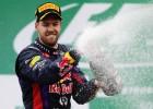Vettel gana el último GP del año y Alonso fue tercero