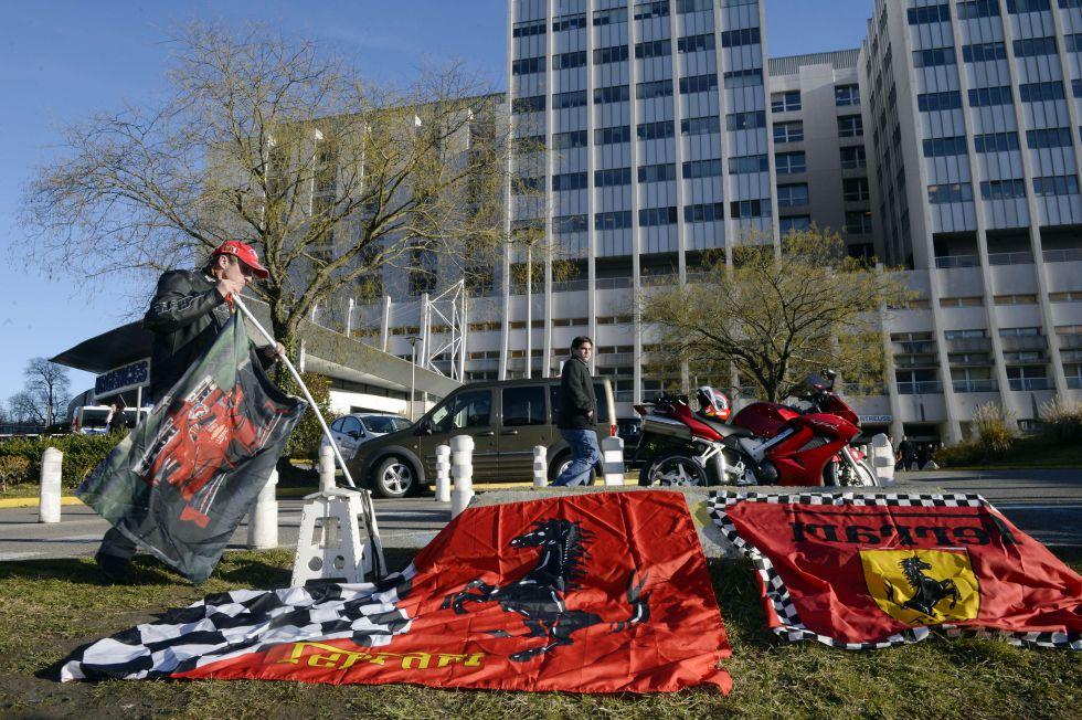 Schumacher sigue en estado crítico, según el último parte
