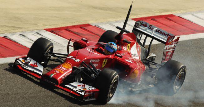 Alonso termina tercero su participación en Bahrain