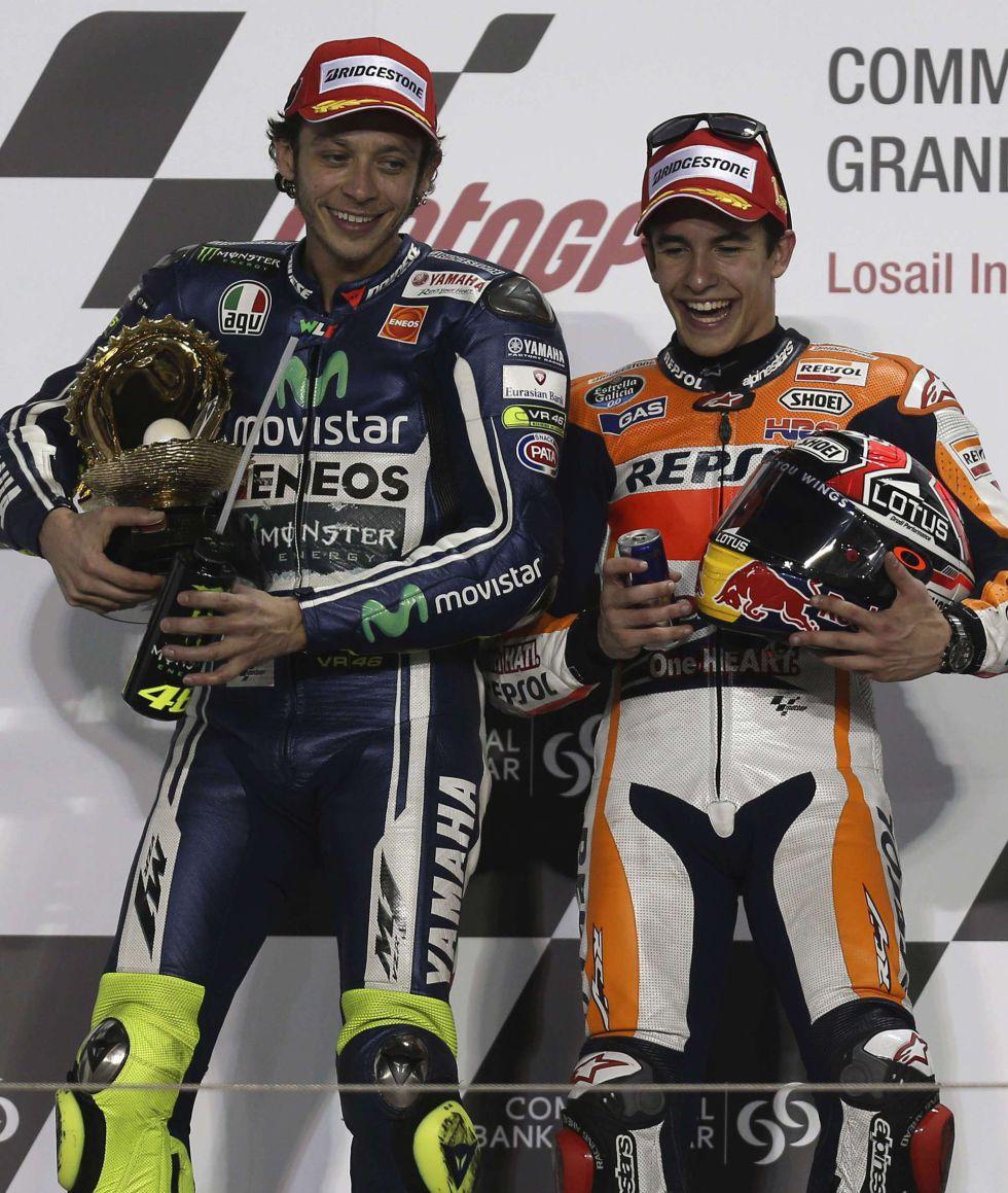 """Rossi: """"Márquez volverá a ser campeón este año"""""""