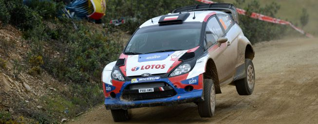 Robert Kubica promedia hasta ahora dos accidentes por rally