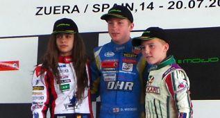 Marta García es segunda en la Rotax Euro Challenge Júnior