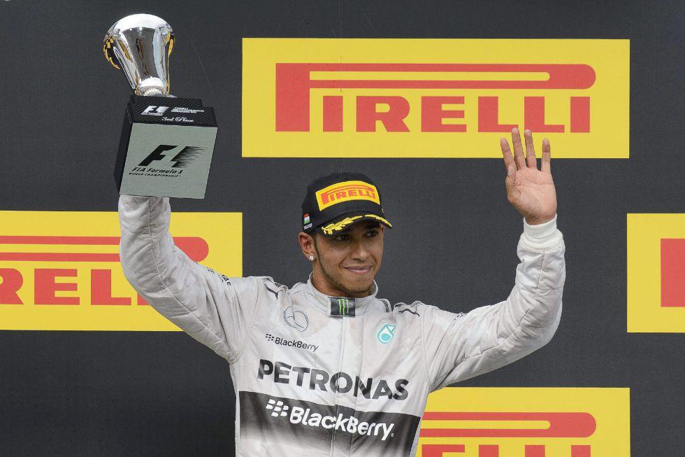 """Lewis Hamilton: """"No le iba a abrir la puerta a Rosberg"""" - AS.com"""