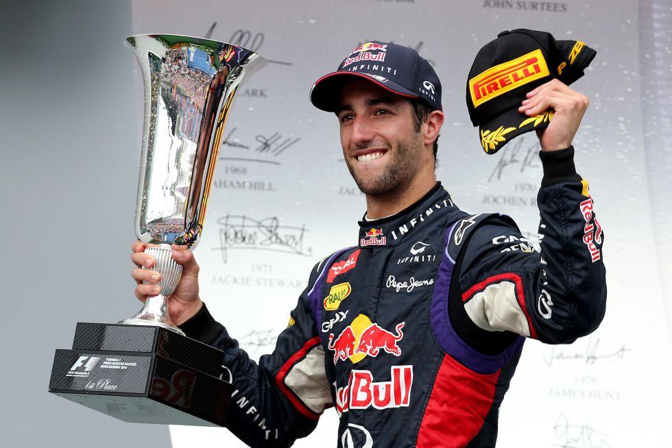 """Ricciardo: """"Sabía que adelantar a Hamilton no iba a ser fácil"""" - AS.com"""