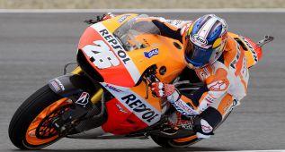 Pedrosa se impone en los últimos libres en Brno