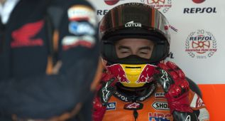 "Márquez: ""Me he quitado un peso de encima, no he ganado"""