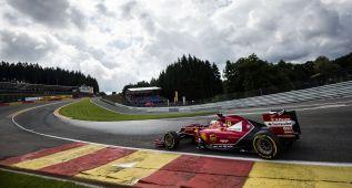 Mercedes también reina en Spa