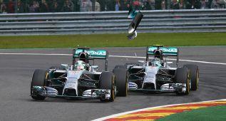 La guerra se desata entre los pilotos del equipo Mercedes