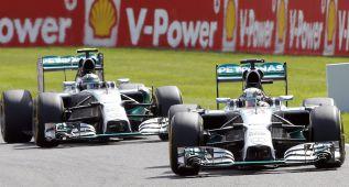 """Mercedes: """"No queremos que se nos quede cara de tontos"""""""