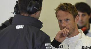 """Button """"Rosberg no está haciendo el mejor trabajo"""""""