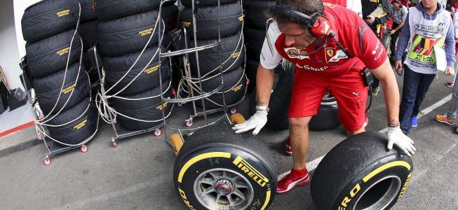 Pirelli llevará a Monza los compuestos más duros