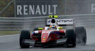 Merhi es segundo en Hungría y mete más presión a Sainz Jr.