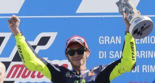 """Valentino Rossi: """"Habría ganado sin la caída de Márquez"""""""