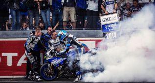 David Checa es campeón con Yamaha diez años después
