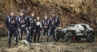 El 'Dream Team' de Peugeot prueba en Francia el 2008 DKR