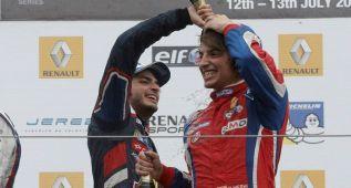La batalla entre Carlos Sainz Jr. y Roberto Merhi sigue en Francia