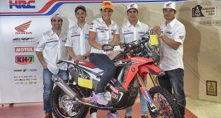 Barreda lidera el 'dream team' de Honda para el Dakar 2015