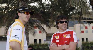 """Kubica """"Alonso necesita nuevos retos, pero no se irá de la F-1"""""""