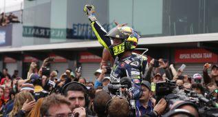 """Rossi: """"Ganar la carrera es aún mejor que el subcampeonato"""""""