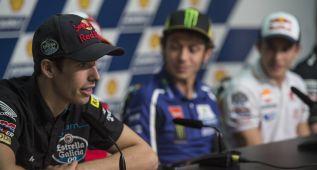"Alex Márquez: ""Es un honor que Rossi te dé consejos"""