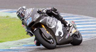 Álex Márquez debuta en Jerez sobre la Moto2 con 52 vueltas