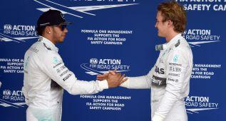 Hamilton-Rosberg un duelo sin rival por el título en Fórmula 1