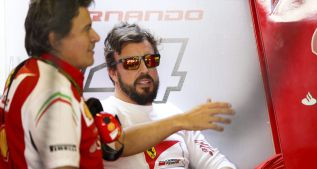 """Alonso: """"Siento alivio de que pase este año. Ha sido pobre"""""""