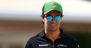Sergio Pérez renueva con Force India en un contrato indefinido