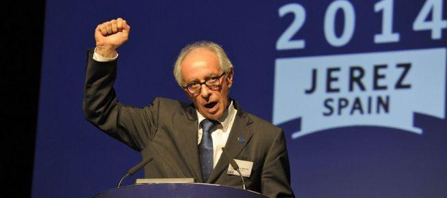 Vito Ippolito, reelegido en Jerez presidente de la FIM