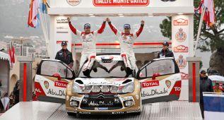 Sebastien Loeb vuelve a los tramos en Montecarlo